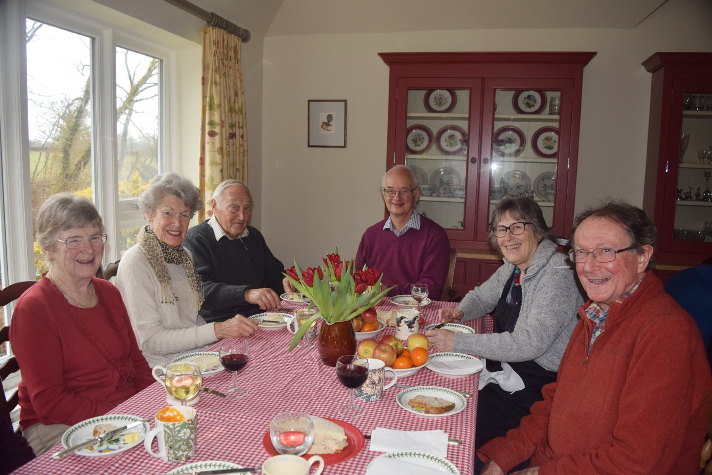 Lent lunch 2018 in aid of Stone pillow Charity from st giles graffham